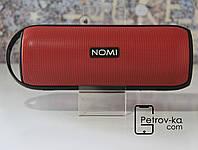 Колонка портативная Bluetooth Nomi Play Red Премиум звук
