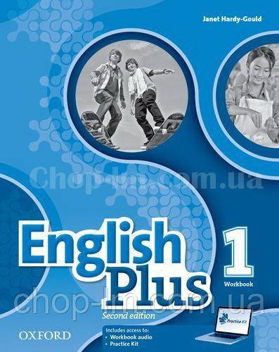 English Plus Second Edition 1 Workbook with access to Practice Kit / Рабочая тетрадь