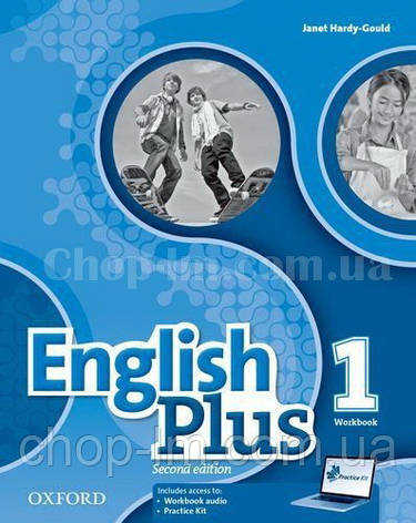 English Plus Second Edition 1 Workbook with access to Practice Kit / Рабочая тетрадь, фото 2