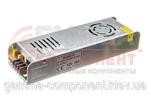 Блок питания 12В перфорированный серии М, 30A 360Вт, IP20