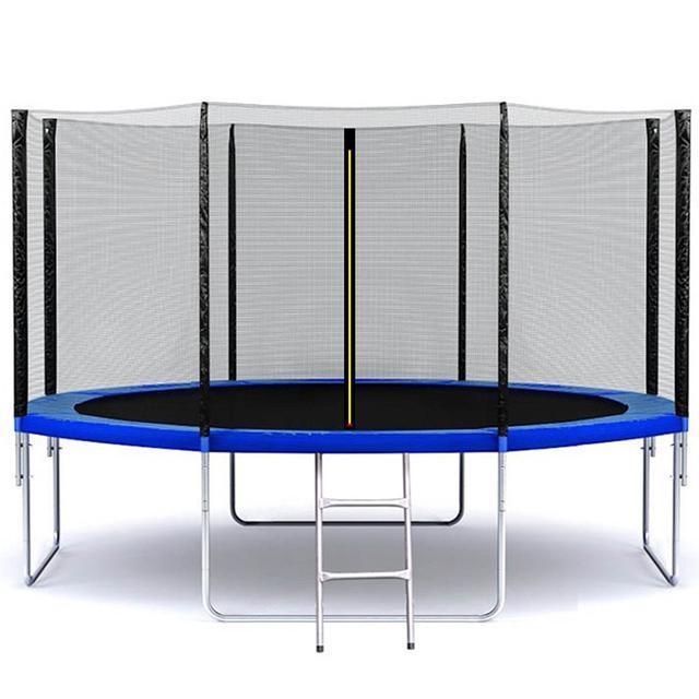 dd2d7f4658e3d2 Батут SkyJump 13 фт., 404 см.з защитной сеткой и лестницей, цена 6 450  грн., купить в Конотопе — Prom.ua (ID#975135700)
