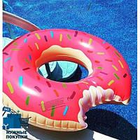 """Надувной круг """"Пончик"""" размеры 90 см"""