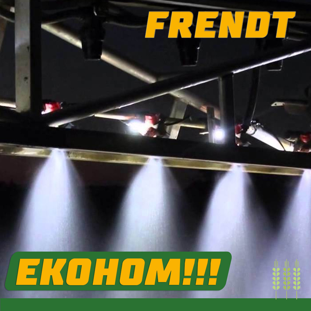 Освітлення факелів штанги обприскувача BERTHOUD RAPTOR 3240, фото 1