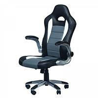 Геймерское (игровое) компьютерное кресло Zeus Forsage grey серое