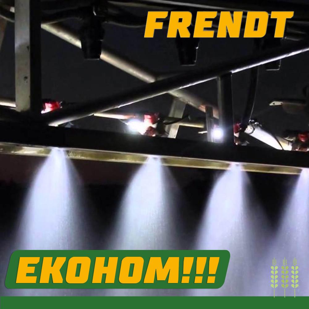 Освітлення факелів штанги обприскувача BERTHOUD TRACKER 3200 DPA