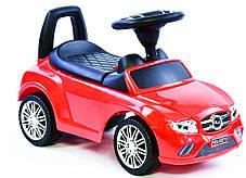 Машина-толокар Joy R-0001 с багажником, красный