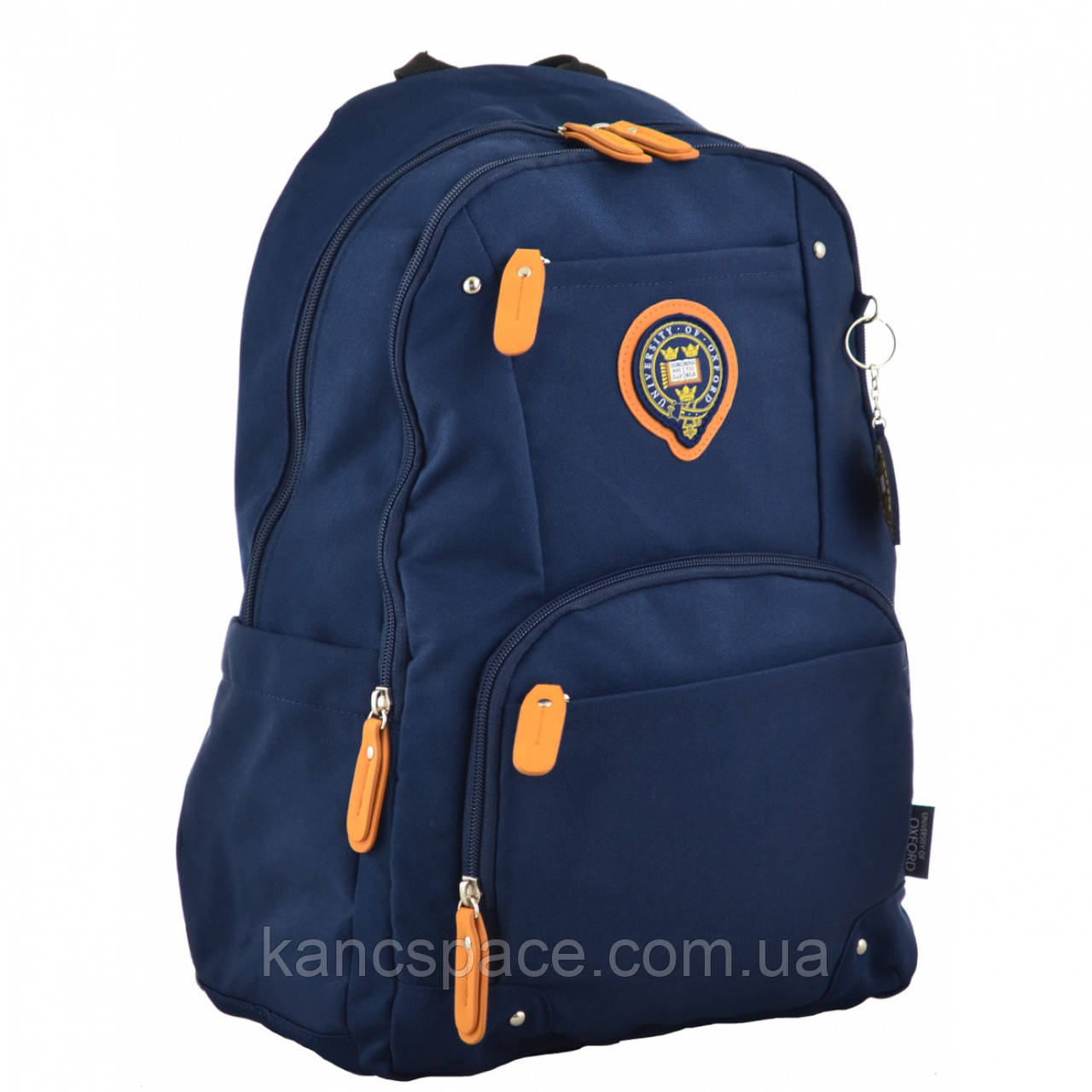 Рюкзак молодіжний OX 347, 45*29.5*14, синiй