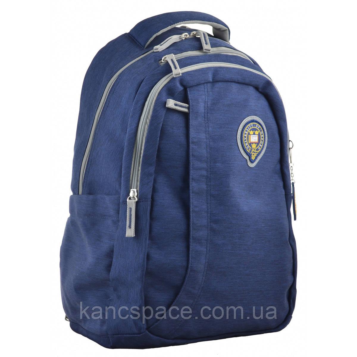 Рюкзак молодіжний OX 391, 45*30*14.5, синiй