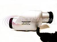 Супер цена! Отличный монокуляр для прогулок и туризма PanaView 5x16, компактных размеров, призмы порро, 40г