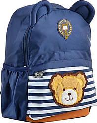 Рюкзак дитячий j100, 32*24*14.5, синiй