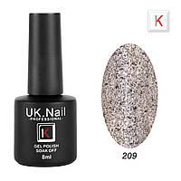 Гель-лаки UK.Nail 8мл №209