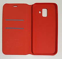 Чехол книжка Southking Samsung Galaxy A6 2018 red, фото 3