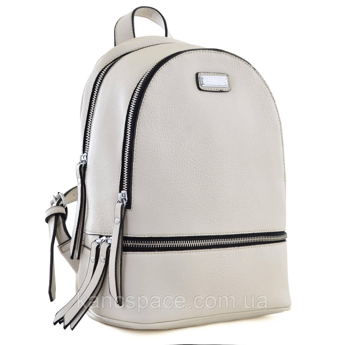 Рюкзак молодіжний  YW-22, 23*31*11, бежевий