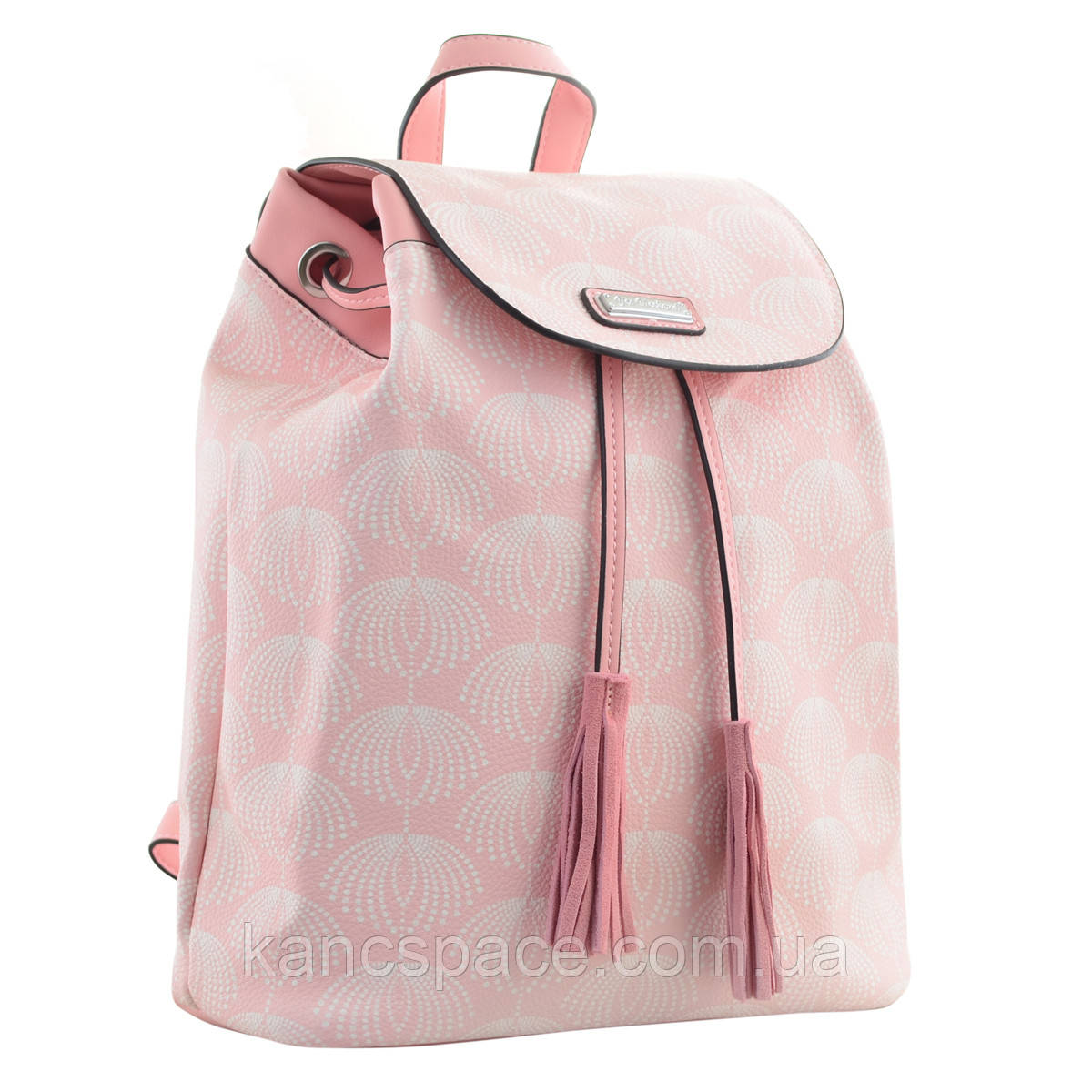 Рюкзак молодіжний  YW-25, 17*28.5*15, рожевий