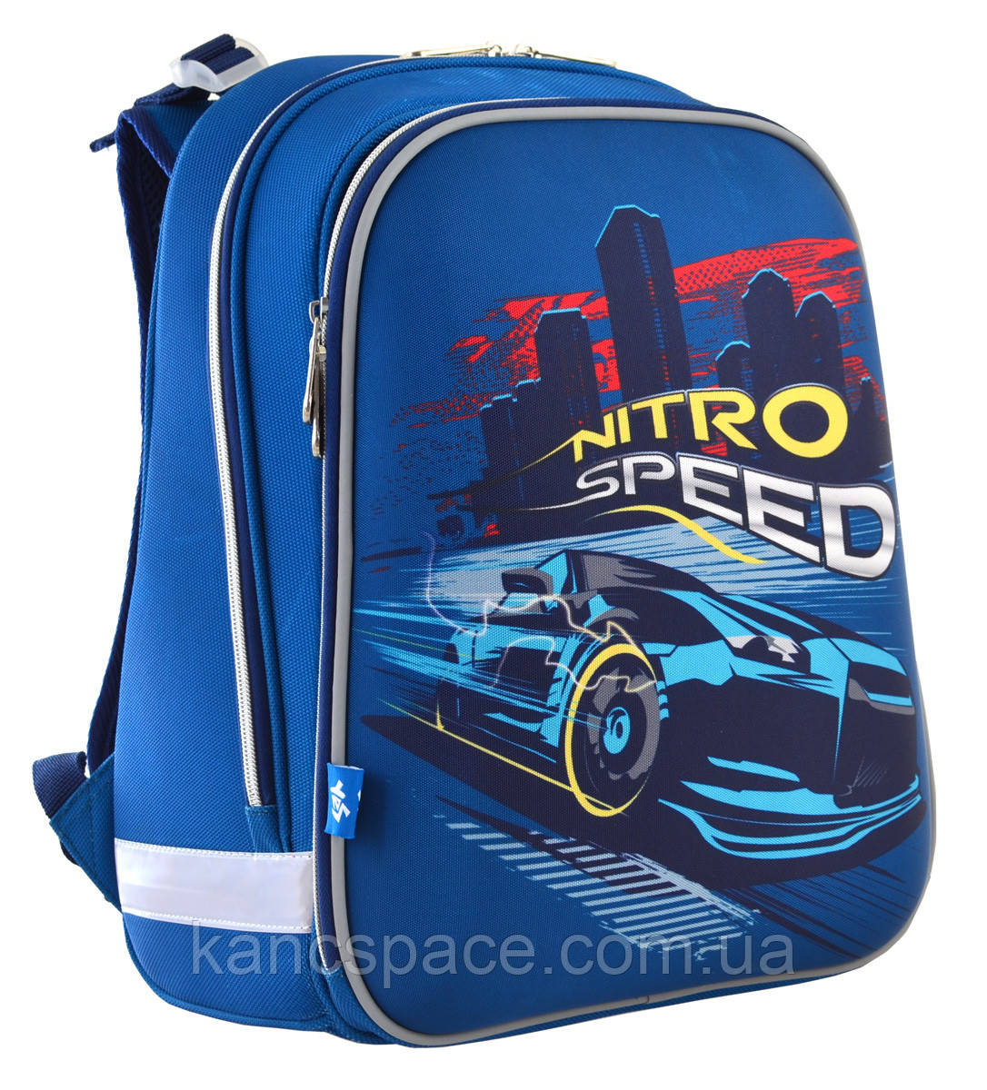 """Рюкзак шкільний, каркасний H-12 """"Nitro Speed"""""""