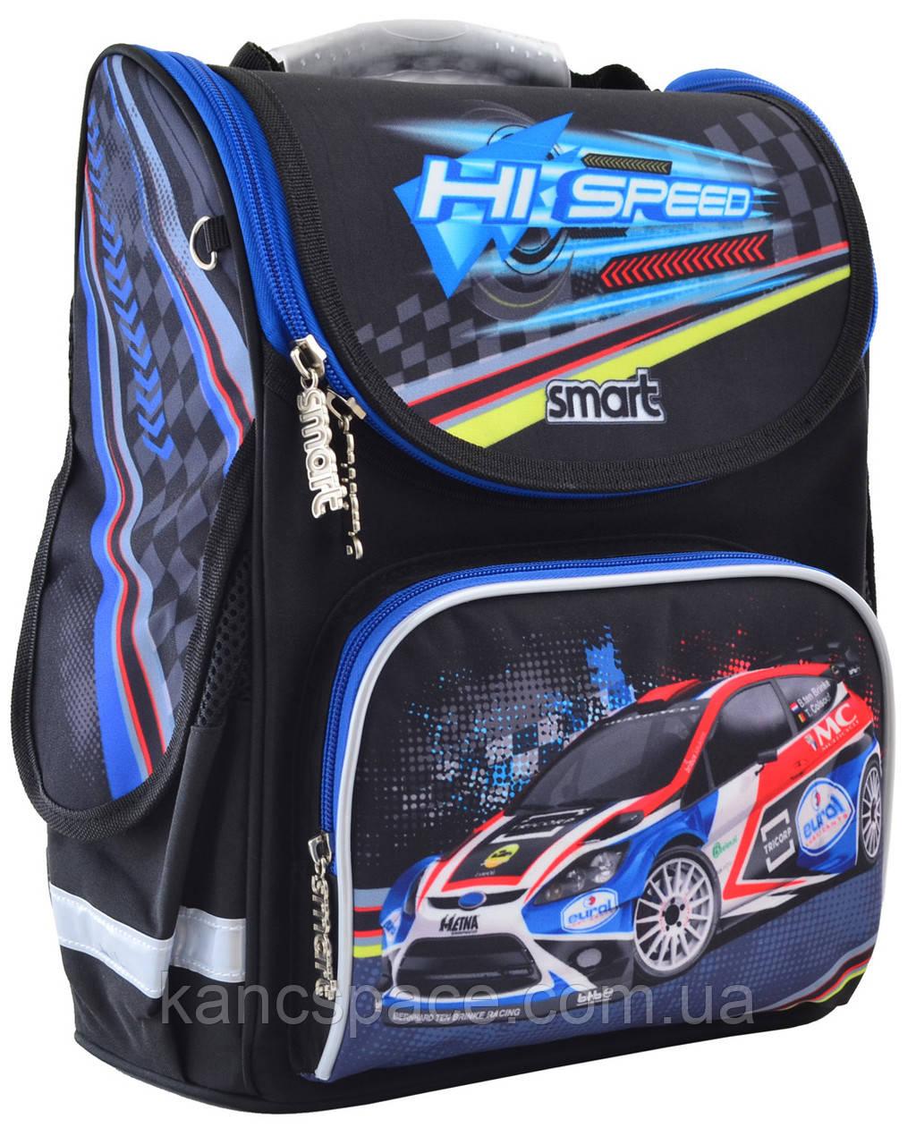 """Рюкзак шкільний, каркасний PG-11 """"Hi Speed"""""""