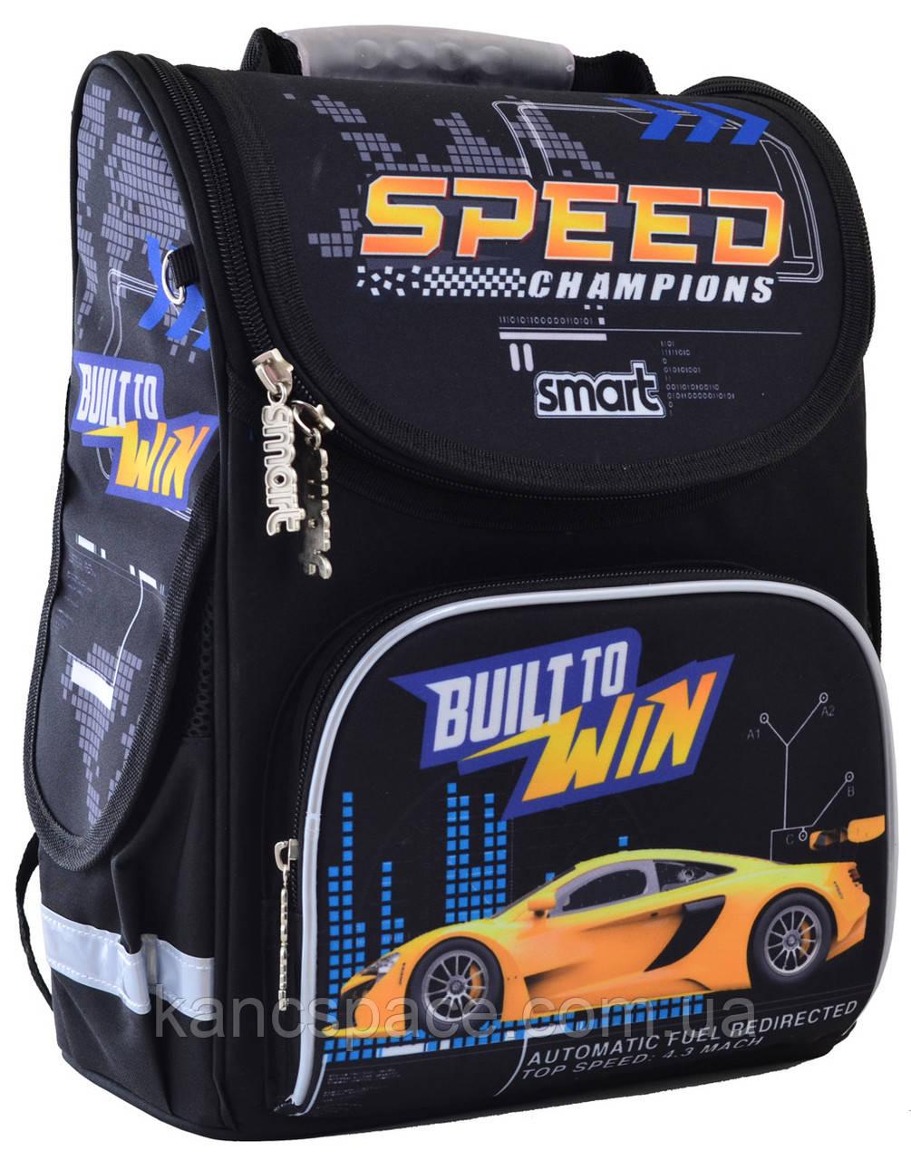 """Рюкзак шкільний, каркасний PG-11 """"Speed Champions"""""""