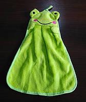 Детское полотенце Лягушка. Уценка, фото 1