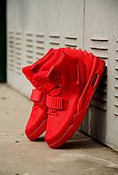 """Кроссовки в стиле Nike Air Yeezy 2 """"Red october"""" мужские"""