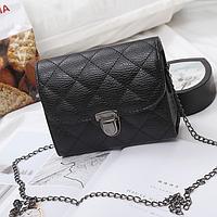 Женский сумка через плечо в стиле Sandra Черный Уценка Тип 2