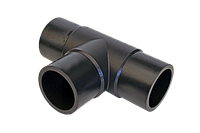 Тройник литой стыковой равносторонний D400 SDR11