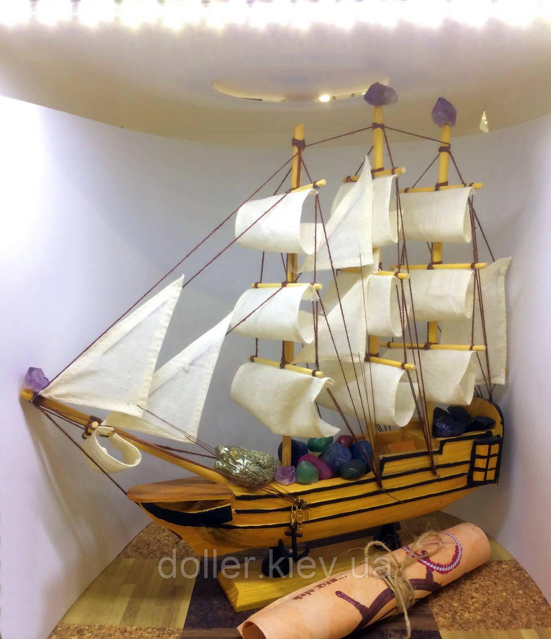 Сувенирный корабль Остров сокровищ Пиратский корабль