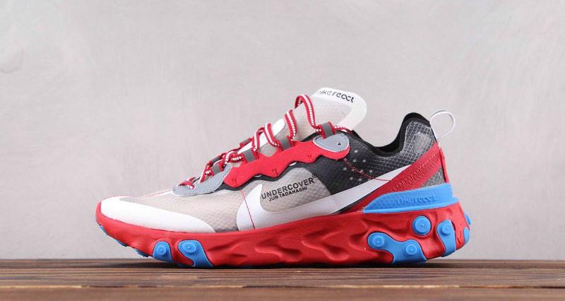 Кроссовки Nike React Element 87 Undercover Volt (Красные)