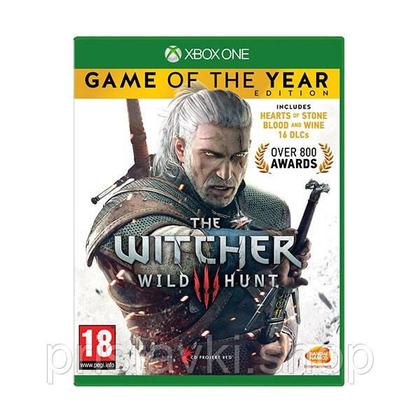 The Witcher 3 Wild Hunt Издание Года XBOX ONE