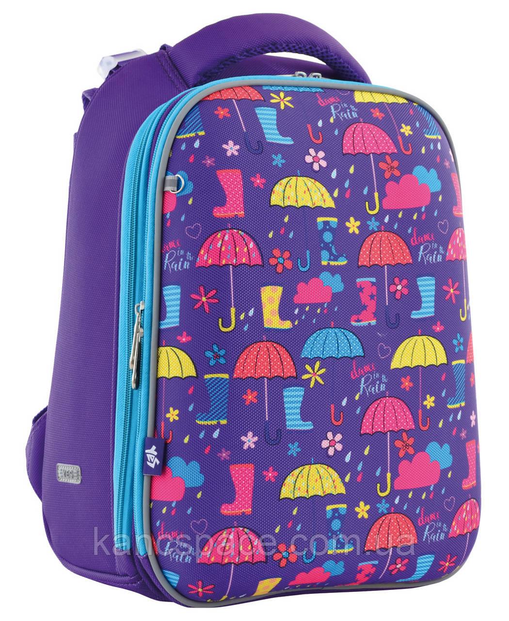 """Рюкзак шкільний, каркасний H-12 """"Umbrellas"""""""
