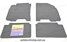 Резиновые коврики в салон Chevrolet Aveo 2004- ЗРТИ Харьков
