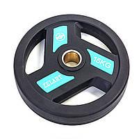 Блины (диски) полиуретановые с хватом и металлической втулкой d-51мм TA-5344-15