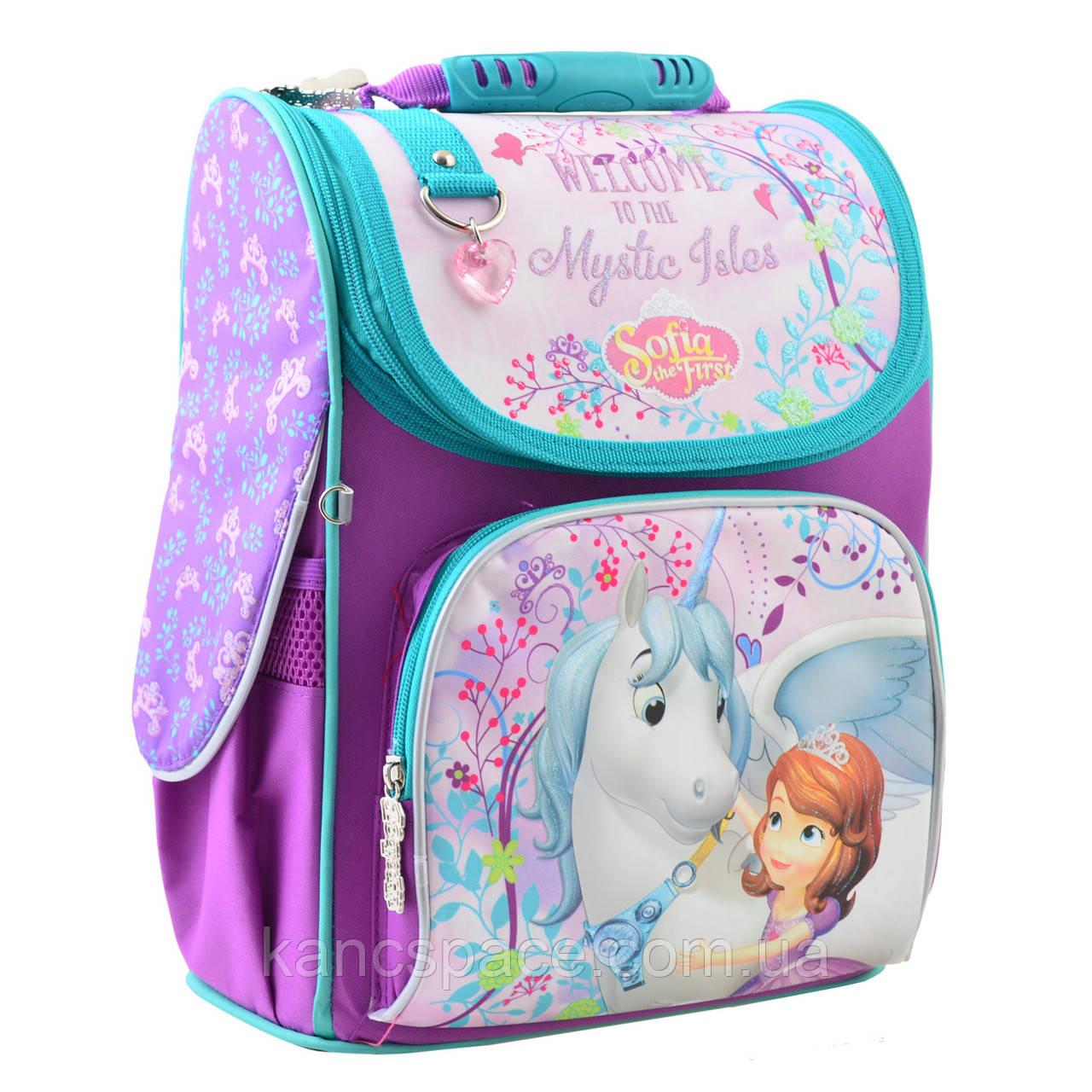 """Рюкзак шкільний, каркасний H-11 """"Sofia """""""