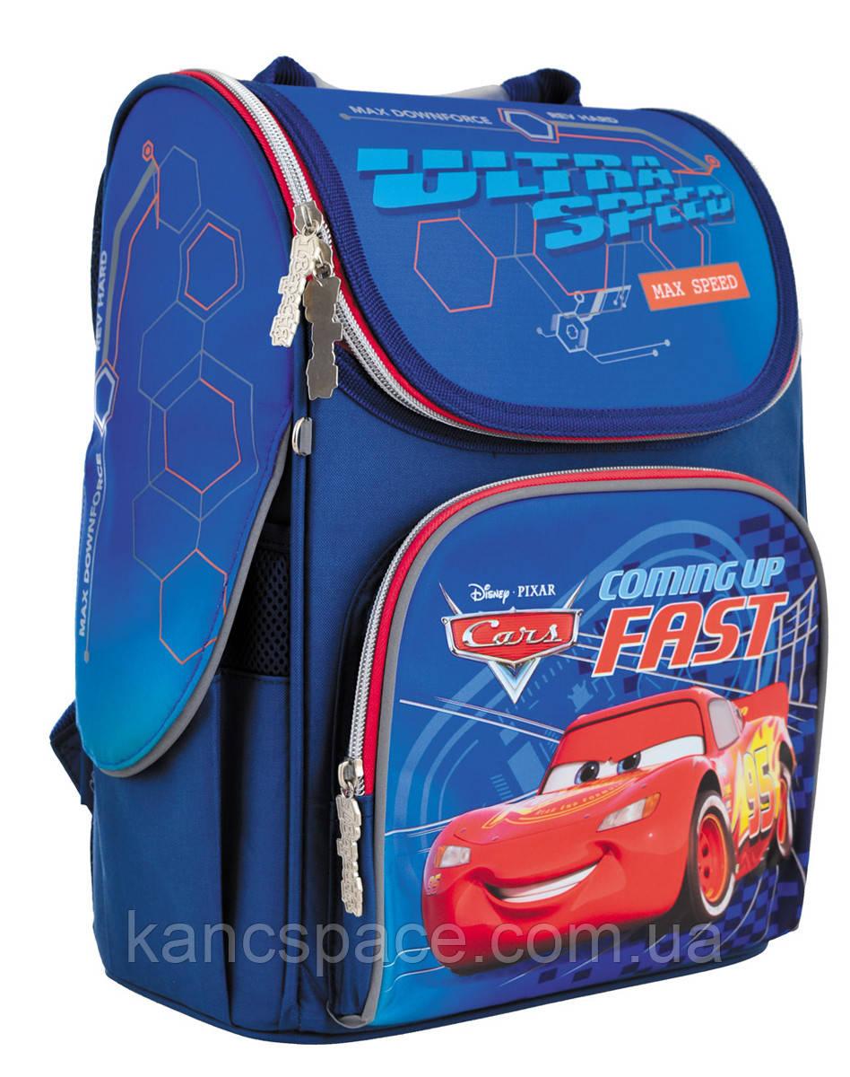 """Рюкзак шкільний, каркасний H-11 """"Cars"""""""