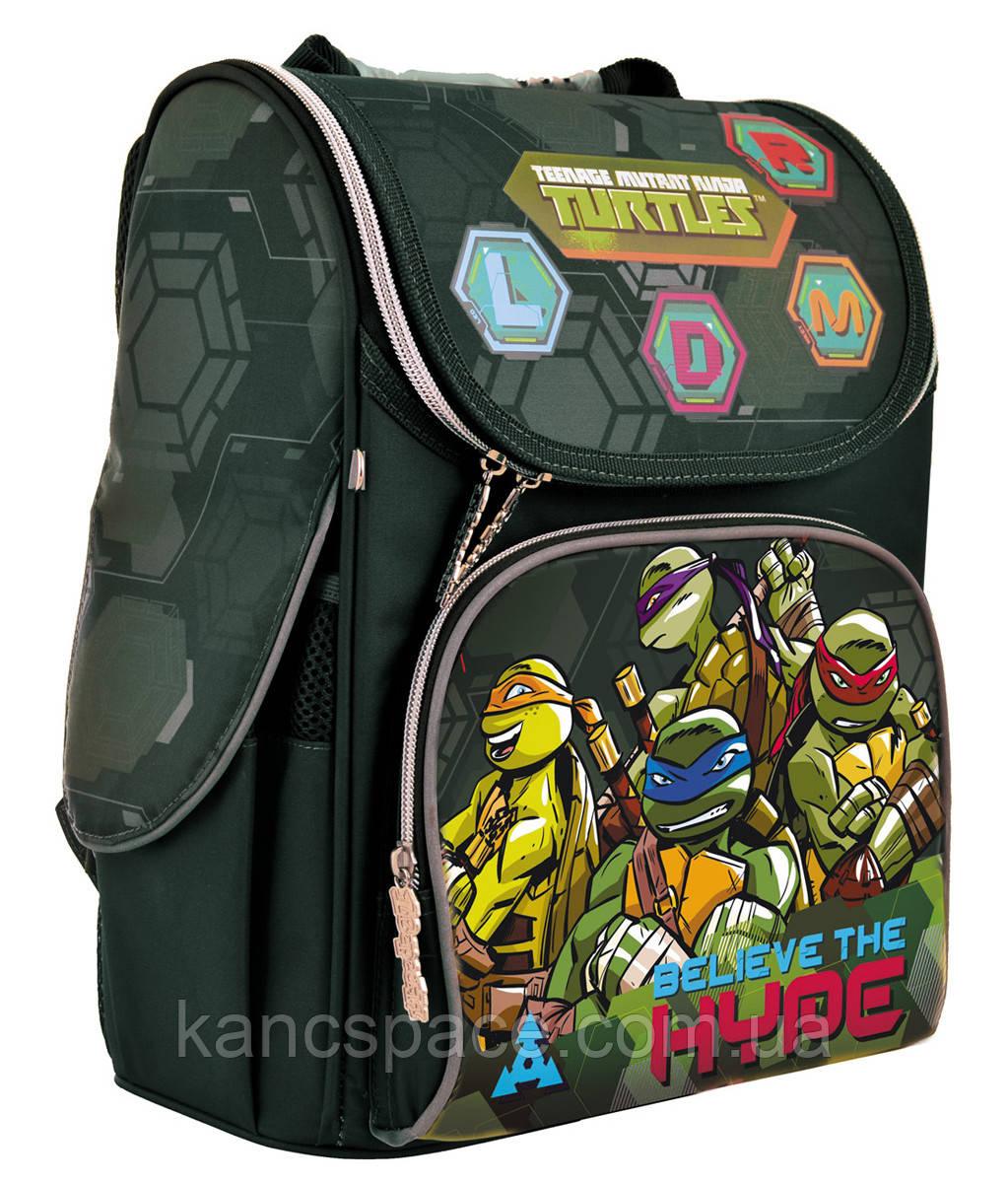 """Рюкзак шкільний, каркасний H-11 """"Tmnt"""""""
