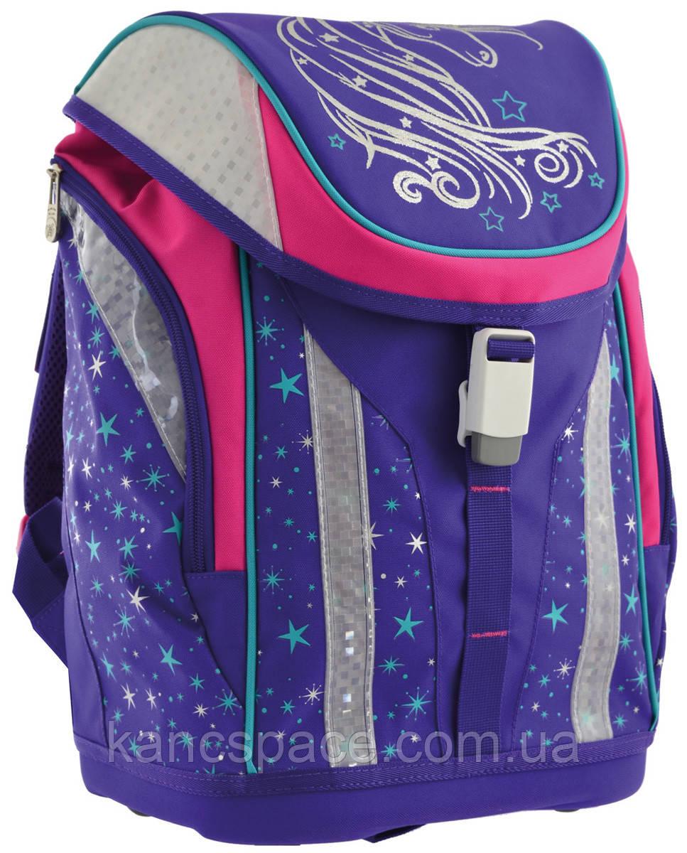"""Рюкзак шкільний, каркасний H-30 """"Unicorn"""""""