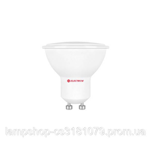 Лампа светодиодная MR-16 LR-5 5W GU10 2700K алюмопл. корп. A-LR-0552