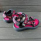 Спортивные сандалии от EeBb девочкам, р. 33 (20,7см), фото 3