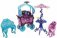 Набор Монстер Хай Уличное Кафе в Скариж, Monster High Travel Scaris Café Cart.