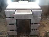 Стіл і дзеркало з підсвічуванням А213, фото 5