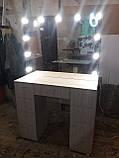Стіл і дзеркало з підсвічуванням А213, фото 2