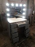 Стіл і дзеркало з підсвічуванням А213, фото 3