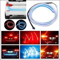 Динамическая подсветка крышки багажника RGB + бегущий поворот 72 SMD
