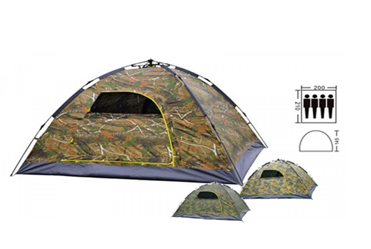 Палатка 4-х местная АВТОМАТ камуфляж, палатка четырехместная походная,туристическая