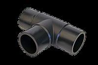 Трійник литий стикового рівносторонній D250 SDR17