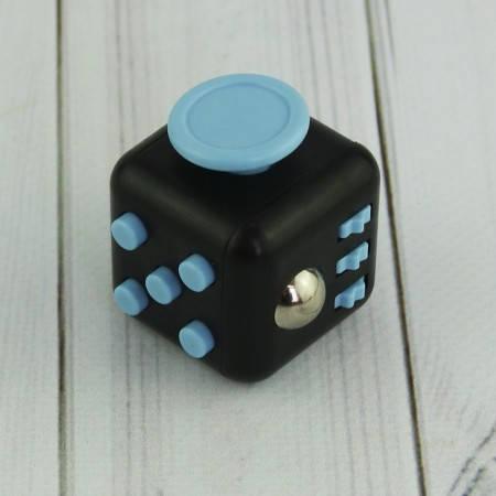 Кубик антистресс Fidget Cube (черный), фото 2