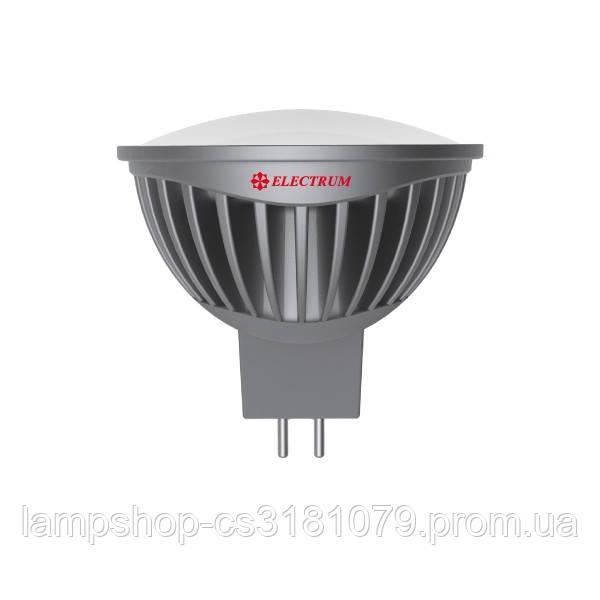 Лампа світлодіодна MR16 LR-19 7W GU5,3 2700K алюм. корп. A-LR-0251