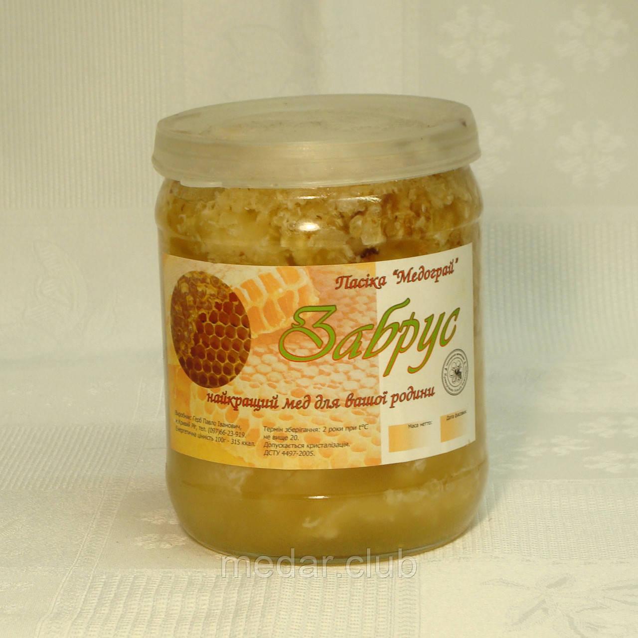 Забрус з меду різнотрав'я, 0,55л
