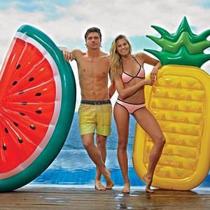 Пляжные надувные матрасы