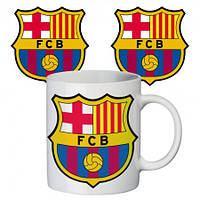 Прикольная чашка ФК Барселона