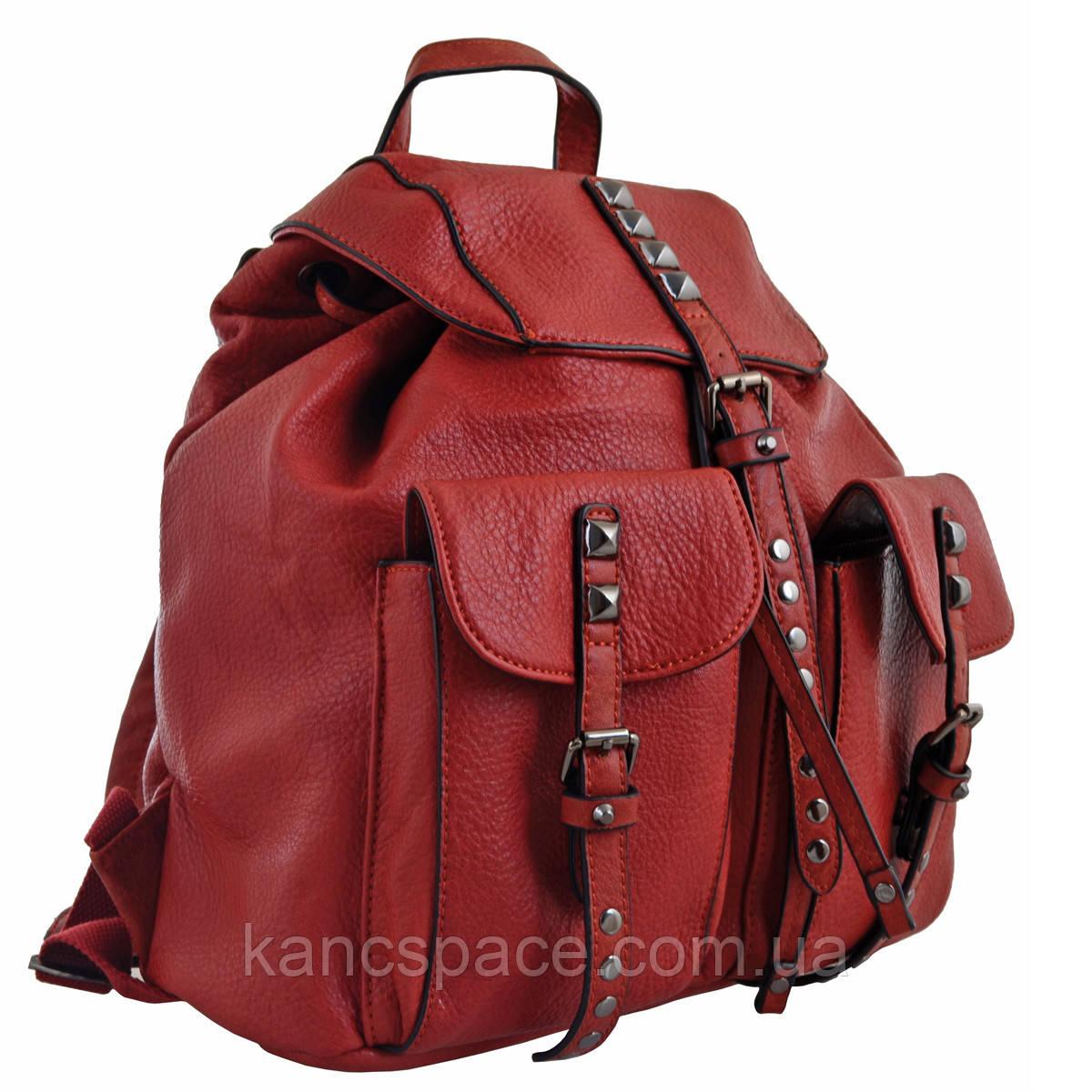 Рюкзак жіночий YW-13, цегляний